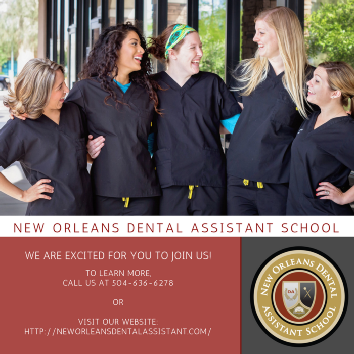 Group of dental assistant students | New Orleans Dental Assistant School