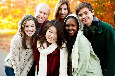 Group of Teens | Dentist in New Orleans