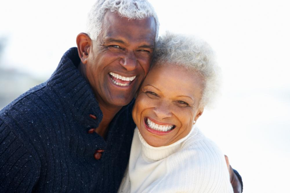 Older couple smiling | Dentist in Gretna LA