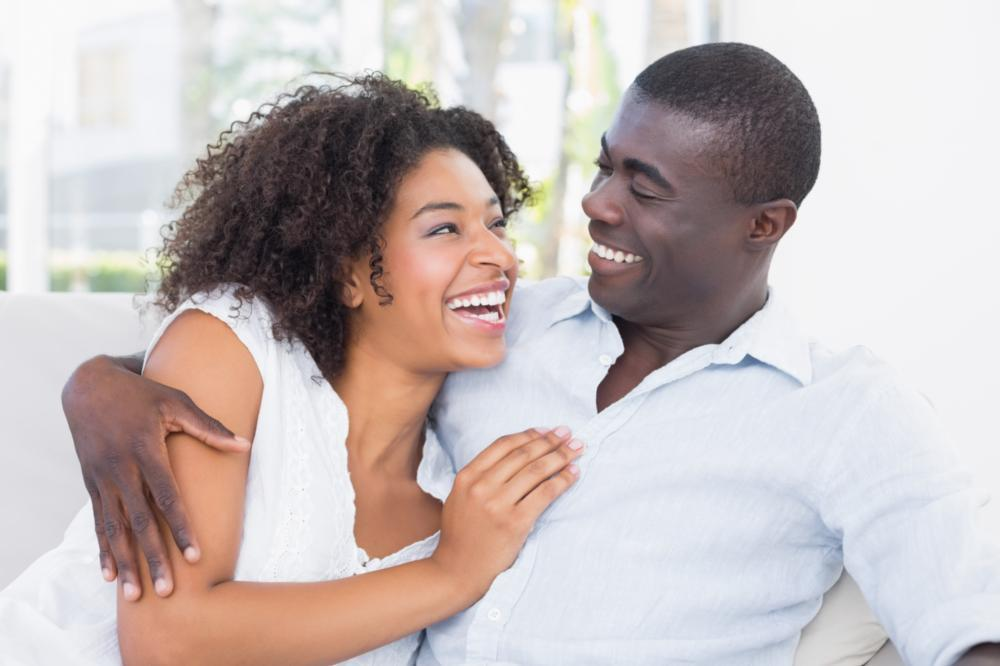 Couple smiling | Dentist Gretna LA