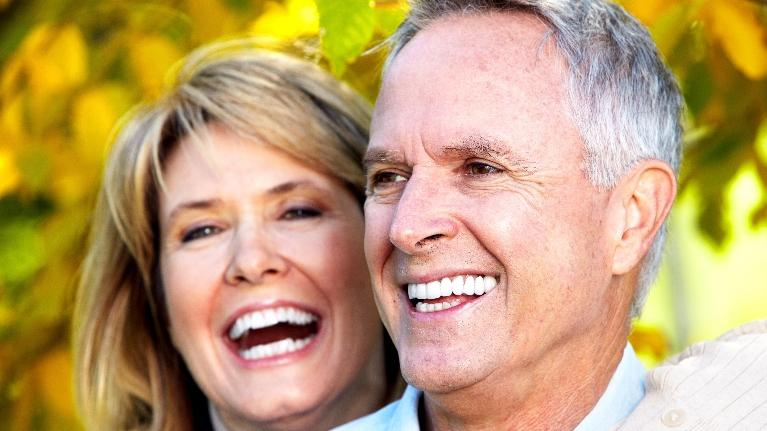 Older Couple | Denture Adhesive Gretna LA