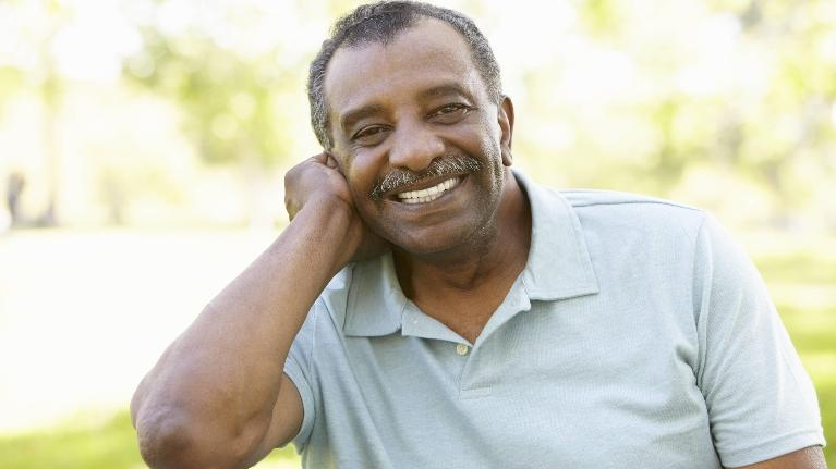 Implant Dentures New Orleans | Man