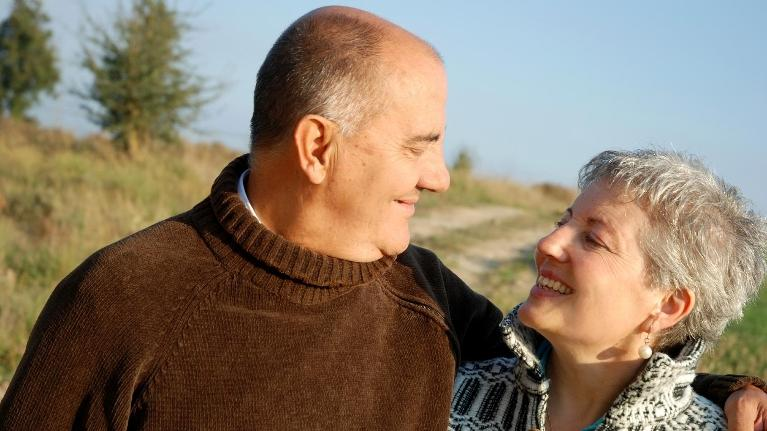 Older Couple | Tooth Loss Gretna LA